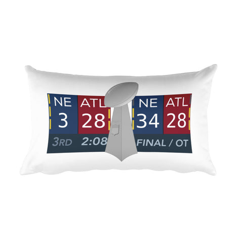 SB Scoreboard Pillow