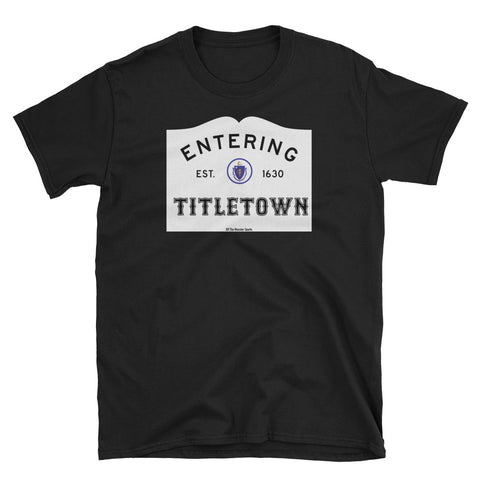 Entering Titletown tee shirt