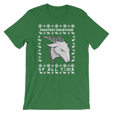 GOAT Greatest Christmas Tee (Multiple Colors Available)