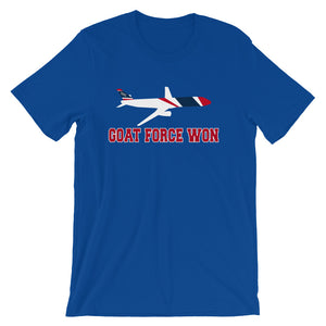 GOAT FORCE ONE - Tee Shirt