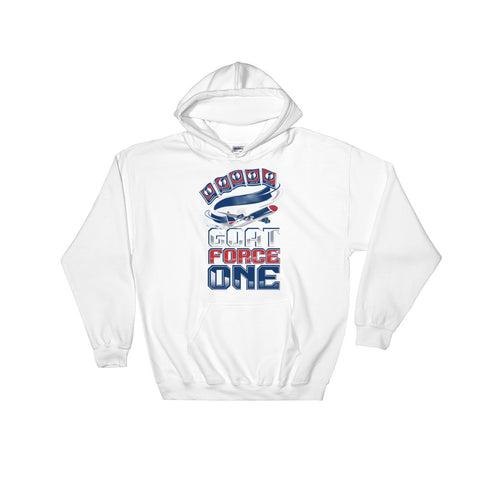 GOAT FORCE ONE Hooded Sweatshirt