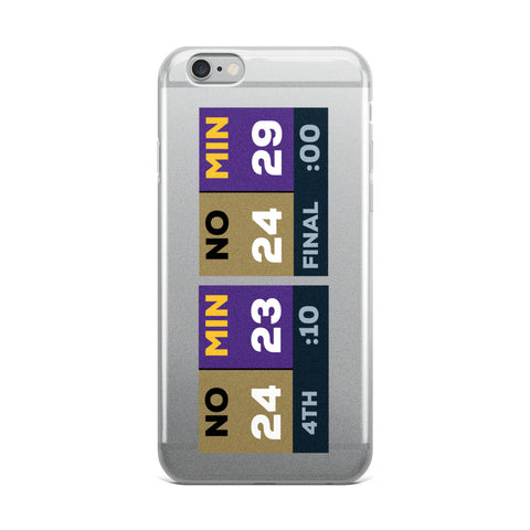 Vikings Comeback iPhone Case
