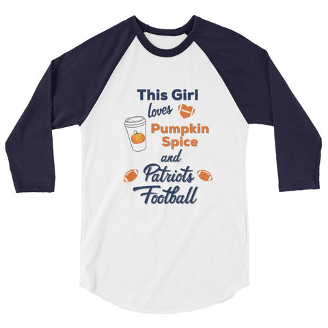 PS & Football 3/4 sleeve raglan shirt