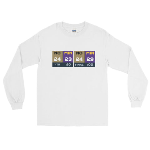 Vikings Comeback Long Sleeve Tee