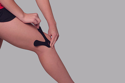 1. Locate boney bump on the outer edge of the knee