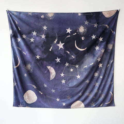Horoscope Stars Wall Hanging Tapestry