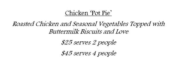 12/23 Chicken 'Pot Pie'