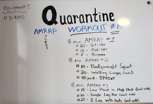 Quarantine fit #15 for Friday April 23rd 2020