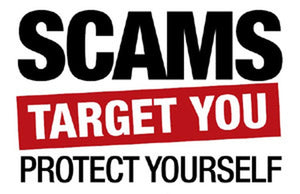 Be aware of these common scams/robberies