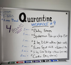 Quarantine fit blog #9 for Friday & Saturday April 10 & 11 2020