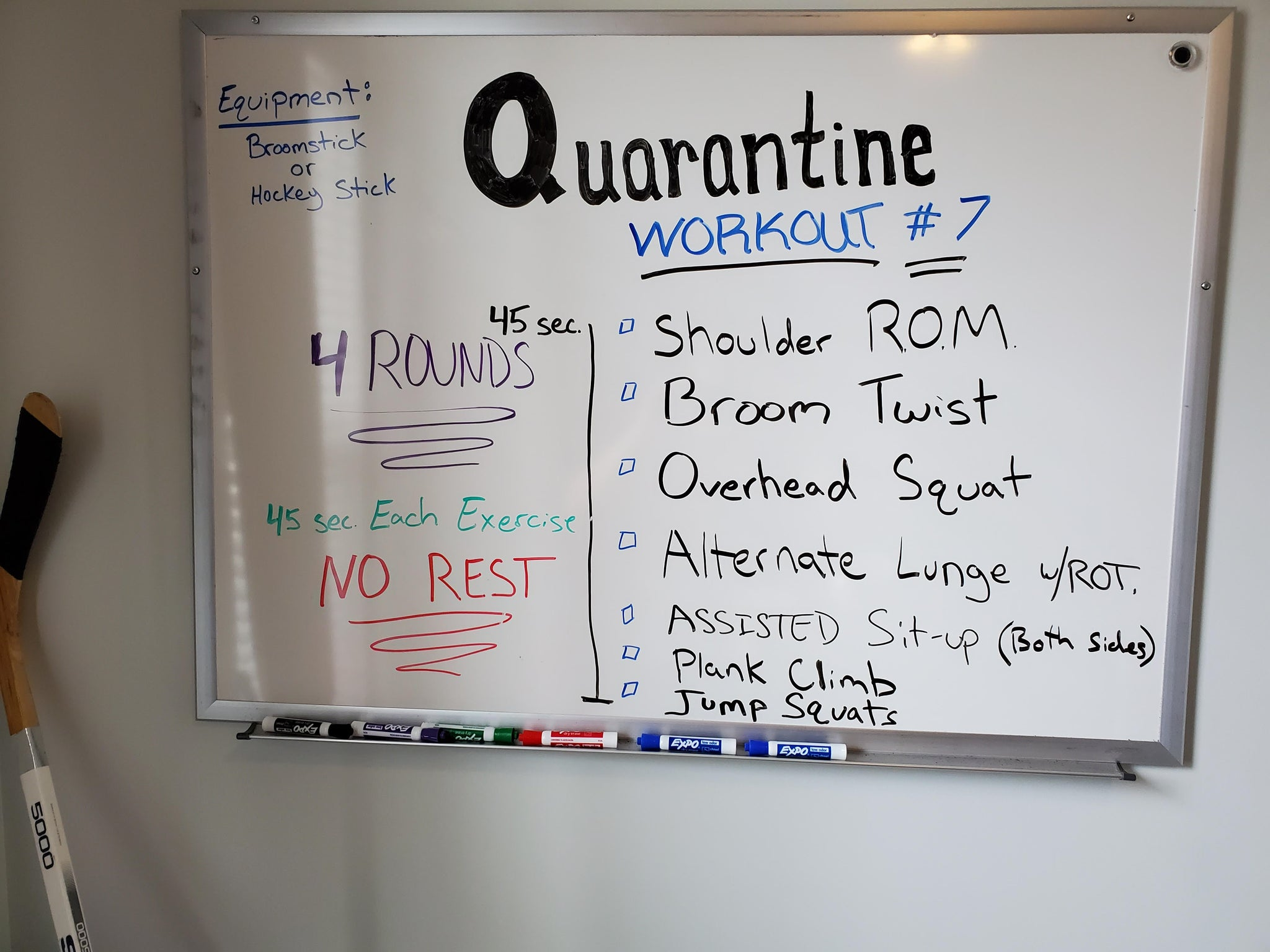 Quarantine fit #7 for Monday & Tuesday April 6th & 7th