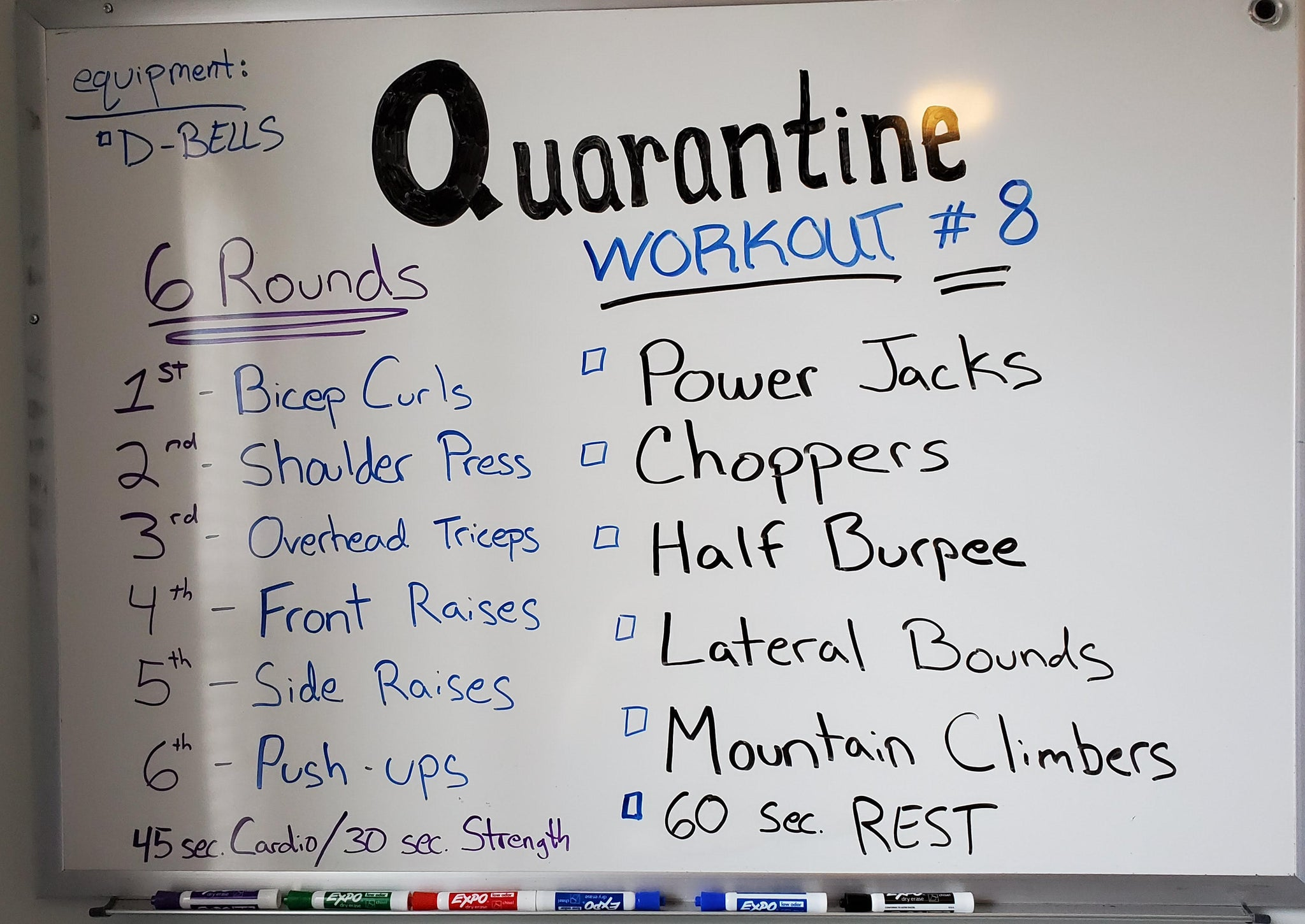 Quarantine fit #8 for Wednesday and Thursday April 8th & 9th