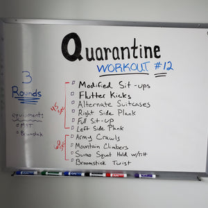 Quarantine #12 for Friday April 17th & Saturday April 18th 2020