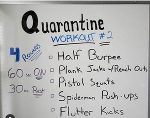 Quarantine workout, boxing, kickboxing and tae kwon do curriculums #2 (with 2 days of content)