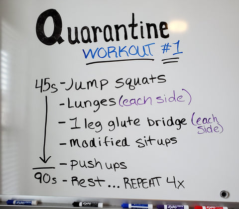Quarantine Fit at Enhance Fitness Studio in Countryside IL