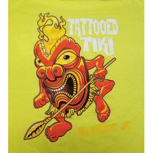 Tiki T-Shirt - Bright Yellow