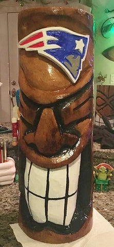 Sports Tiki - Smokin' Patriots Tiki