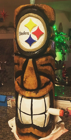 Sports Tiki - Smokin' Steelers Tiki
