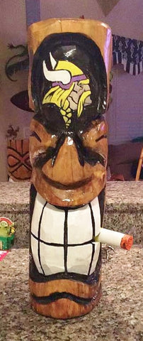Sports Tiki - Smokin' Vikings Tiki