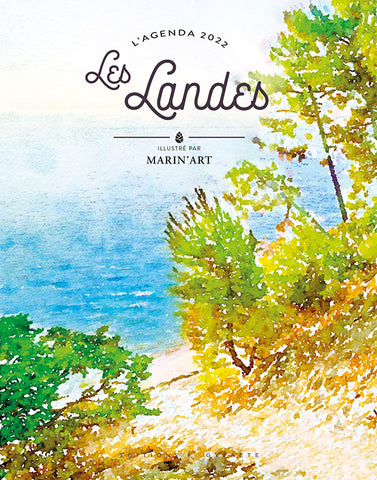 AGENDA LANDES 2022 - illustrations de Marin'art
