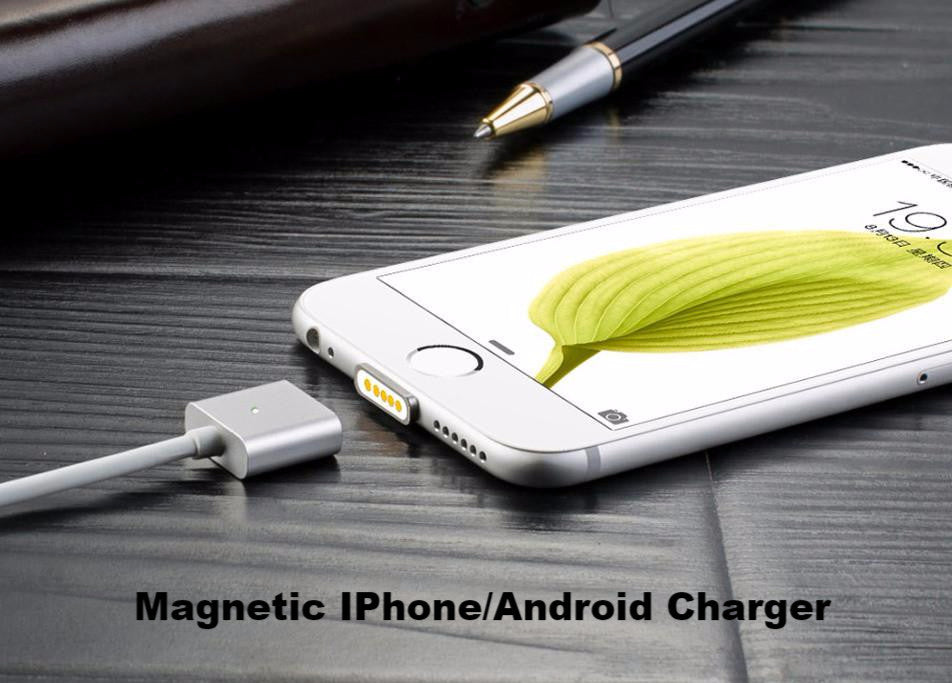 Magnetic Charging Cable For iPhone Samsung Huawei Android(Free Delivery)