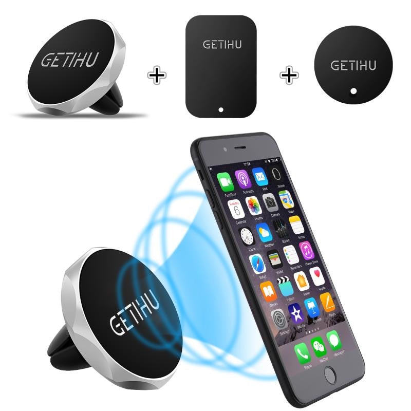 Universal Magnetic Car Mobile Phone Holder Air Vent (Free Delivery)