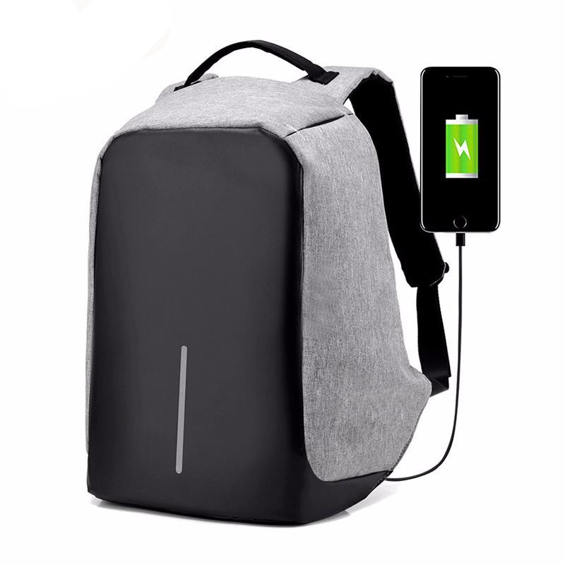 Anti Theft Backpack With Charging Port (Free Worldwide Delivery)