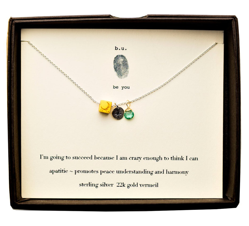E002ACF I Am Going To Succeed - b.u. jewelry