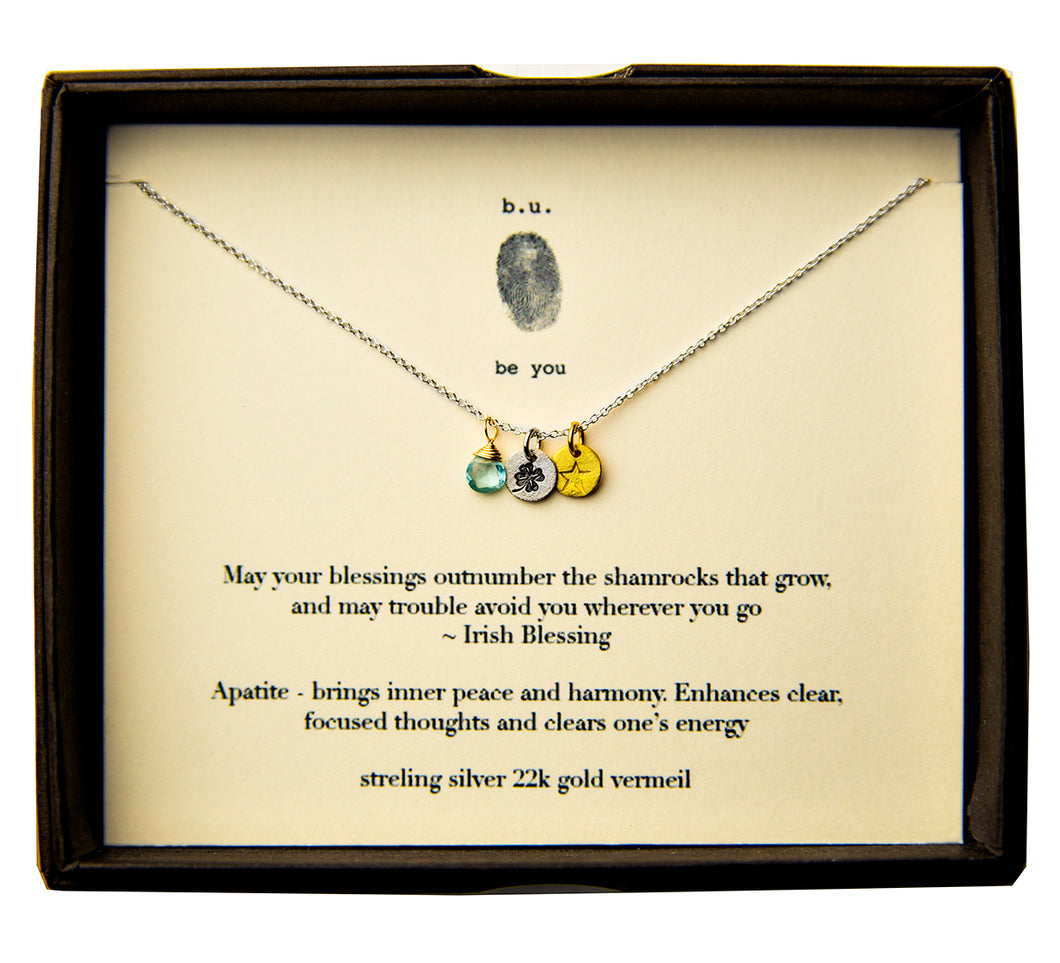 E005A May your Blessings - b.u. jewelry