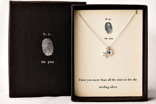 E231B I Love You More Than All The Stars In The Sky - b.u. jewelry