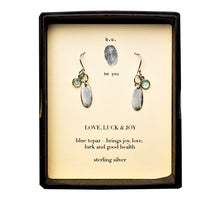 E235S Love, Luck & Joy Earring Pair - b.u. jewelry