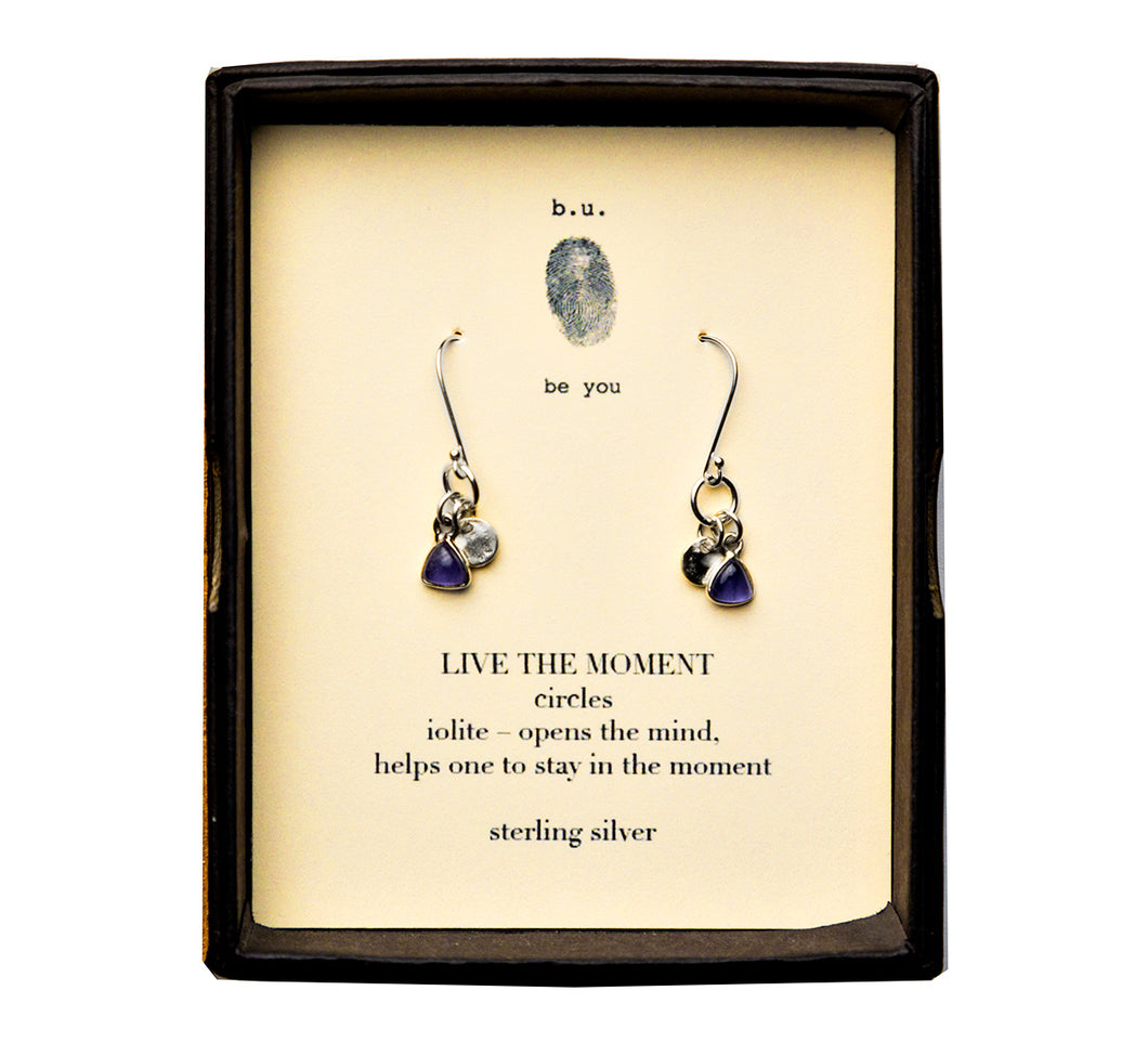 E29S Live the Moment Earring Pair - b.u. jewelry