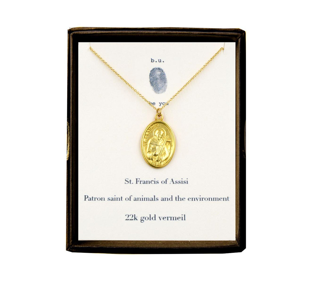 N339V Saint Francis of Assisi Gold