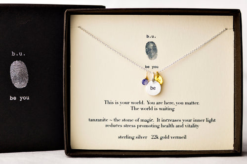 N405ACF This Is Your World - b.u. jewelry