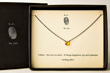 NCC Citrine Cut Heart - b.u. jewelry