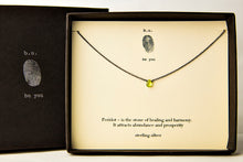 NCP Peridot Faceted Tear - b.u. jewelry