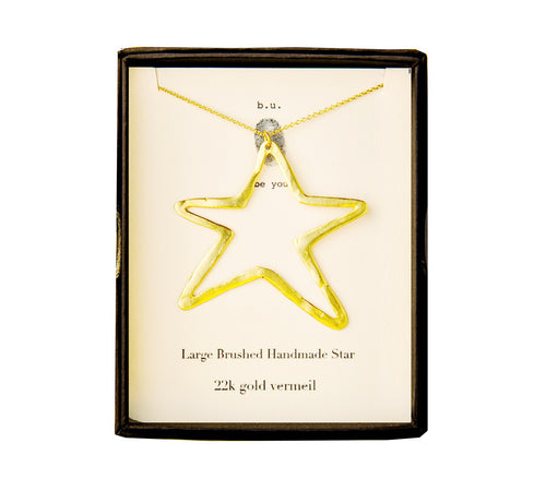 NE127V Large Star Gold