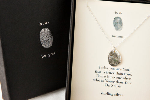 NE153 Fingerprint - b.u. jewelry