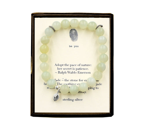 S25N674 Adopt the Pace of Nature New Jade Bracelet