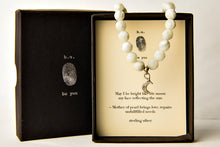 S8N588 Moon Mother of Pearl - b.u. jewelry