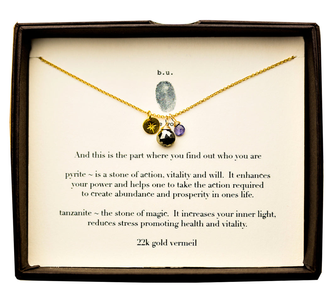 SCE002AV And This Is The Part Where You Find Out Gold - b.u. jewelry