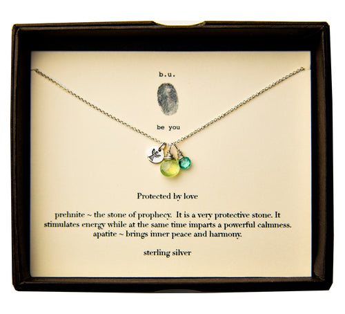 SCE003 Protected by Love - b.u. jewelry