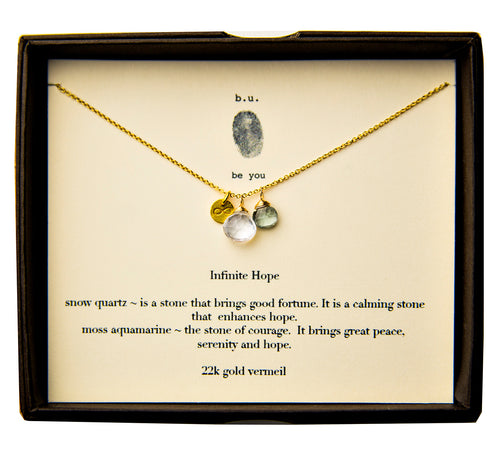 SCE011V Infinite Hope Gold - b.u. jewelry