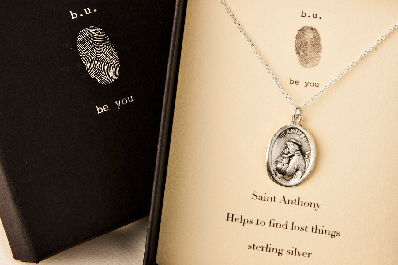 Which saint helps you find lost things