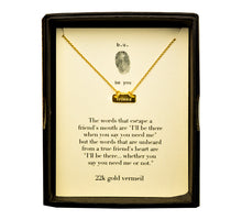 N376V Friend Gold - b.u. jewelry