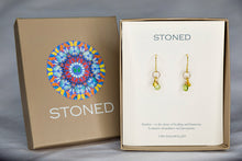 XE2PG Peridot Earring with Gold accent