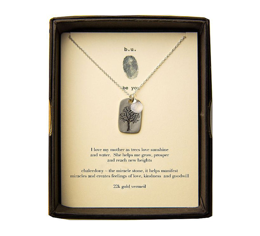 DTL14MOM I Love My Mother As Trees Love Sunshine - b.u. jewelry