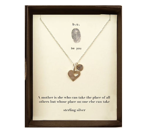 MOM1 A Mother Is She Who Can Take the Place - b.u. jewelry