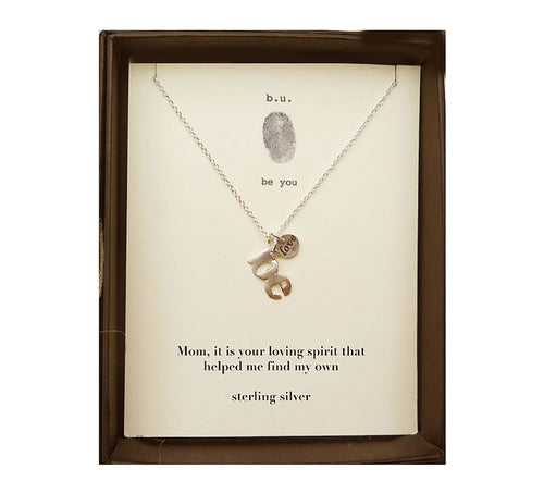 MOM2 Mom, It Is Your Loving Spirit - b.u. jewelry