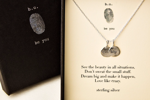 N348 Dream Big - b.u. jewelry